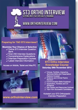 Orthointerview Flyer 2015